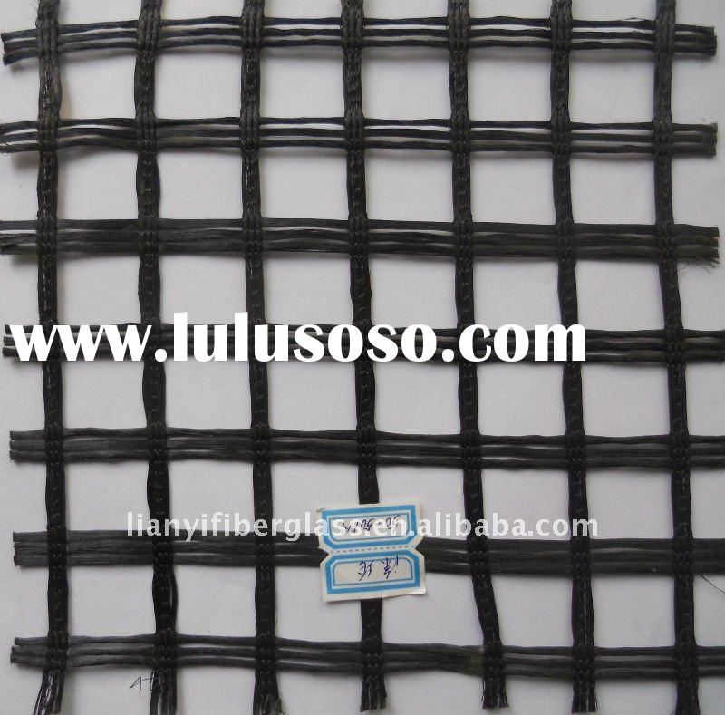 Polyester geogrid 50-50KN/M&Retaining wall