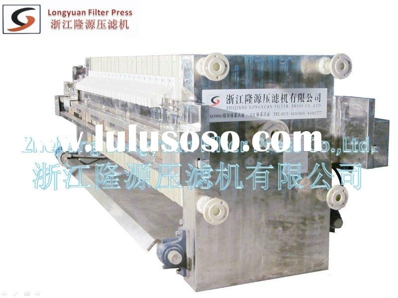 Professional Automatic PP membrane Stainless Steel Press Filter