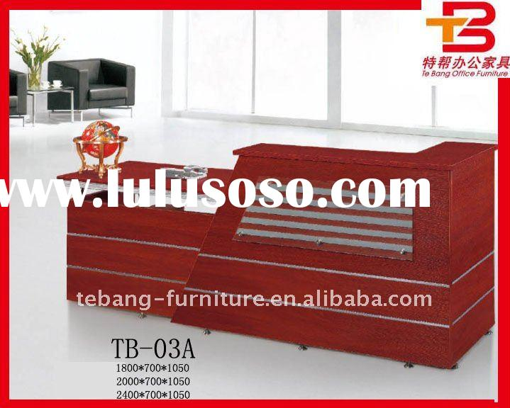 Red Cherry Modern Office Reception Counter TB-03A
