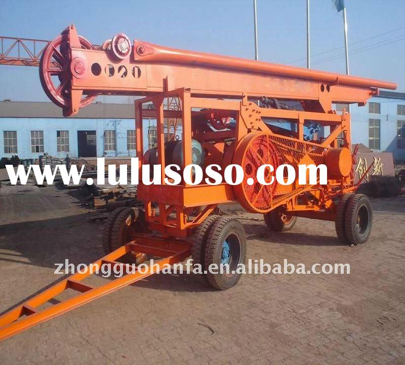 Rock Killer!!! foundation piling rig , HF-6A percussion drilling rig