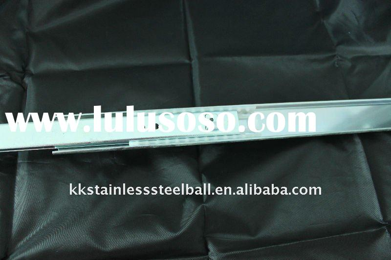 plastic ball roll in guide rail