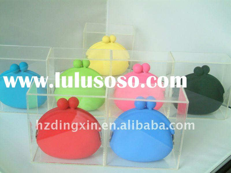 2011 HOT new style silicone purse for promotion