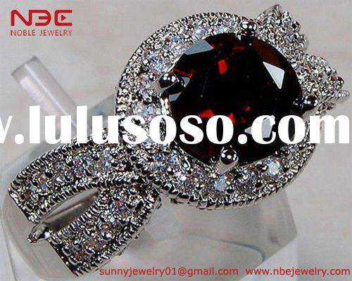 Handmade 925 sterling silver jewelry ring with AAA big ruby gemstone