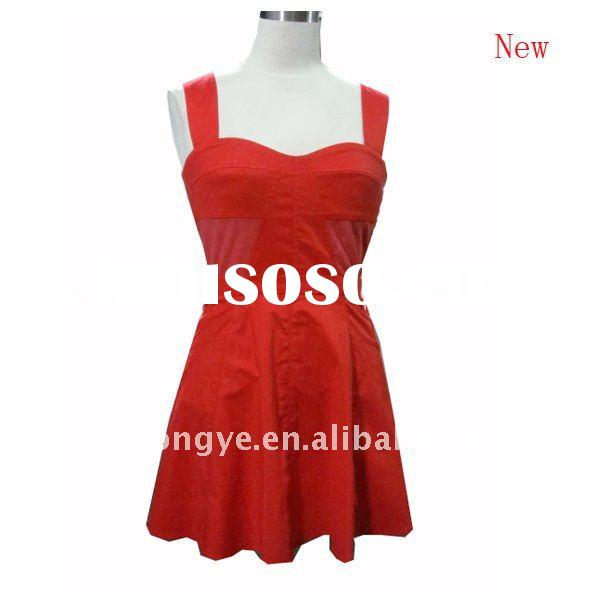 Lady fashion cotton dress