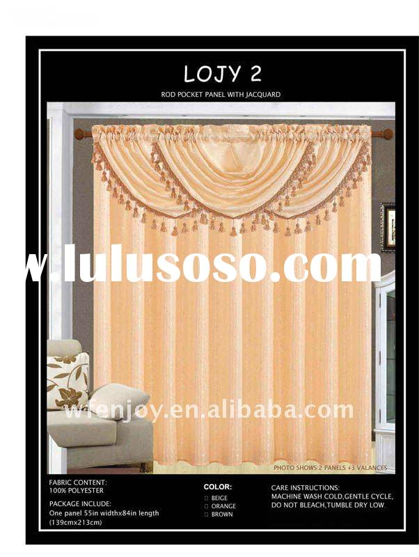 PANEL / CURTAIN WITH JACQUARD