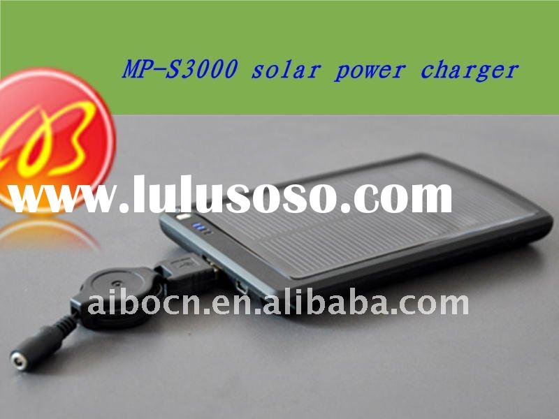 Solar power bank charger for ipad ,ipone