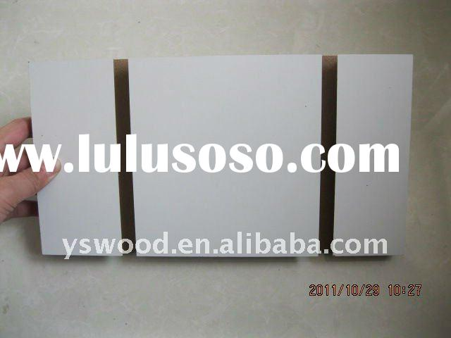 melamined soltted MDF FOR decortive