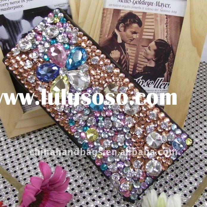 New arrivals Rhinestone leather wallet