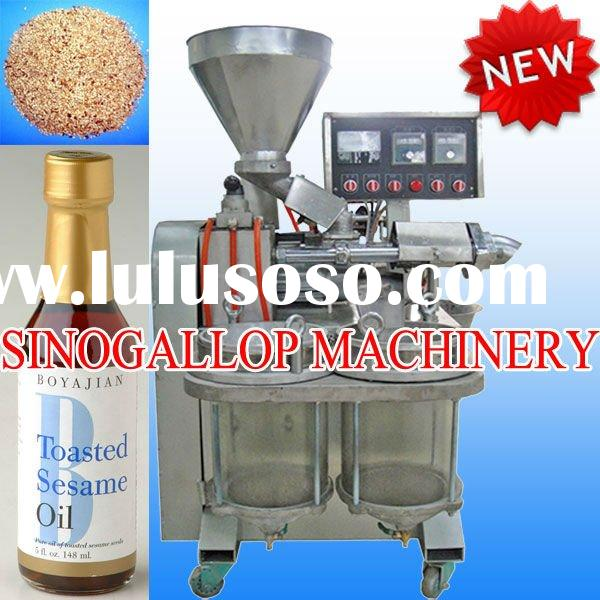 2012 newest stainless steel sesame oil press