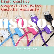 For Apple iPhone ipad ipod COLOR usb cacble