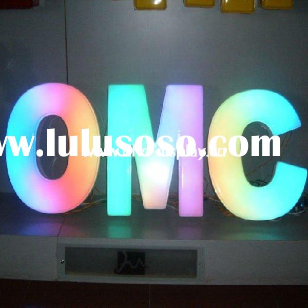 Front Light acrylic LED Letter Sign