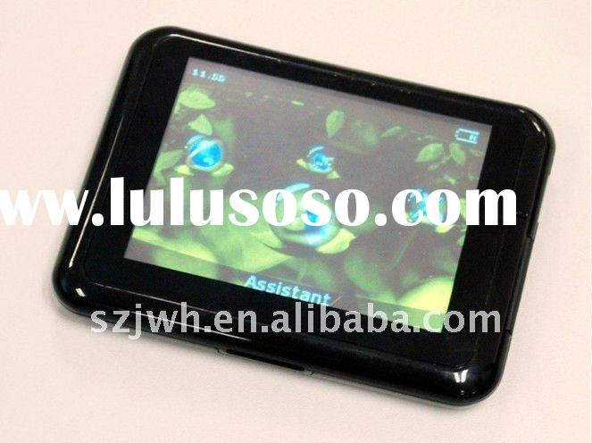 Hot sell 3.5 inch gps navigation with FM function and flat screen