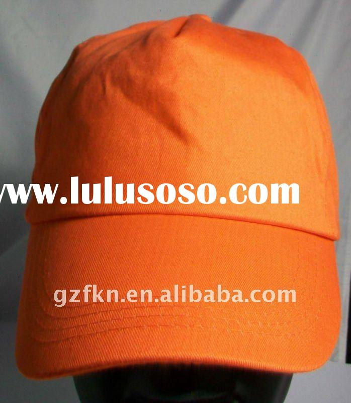 Hot selling promotional gift plain cap with eyelets