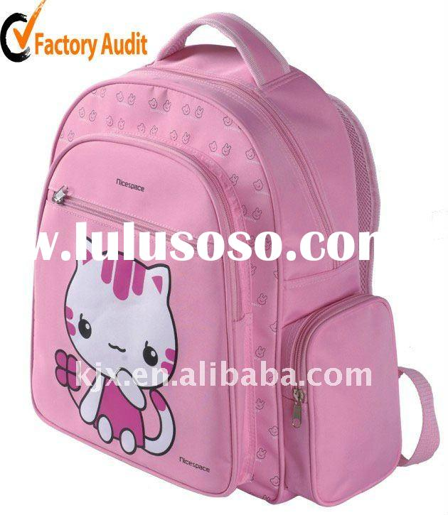 Licensed Microfiber Lovely Cartoon Children School Bag