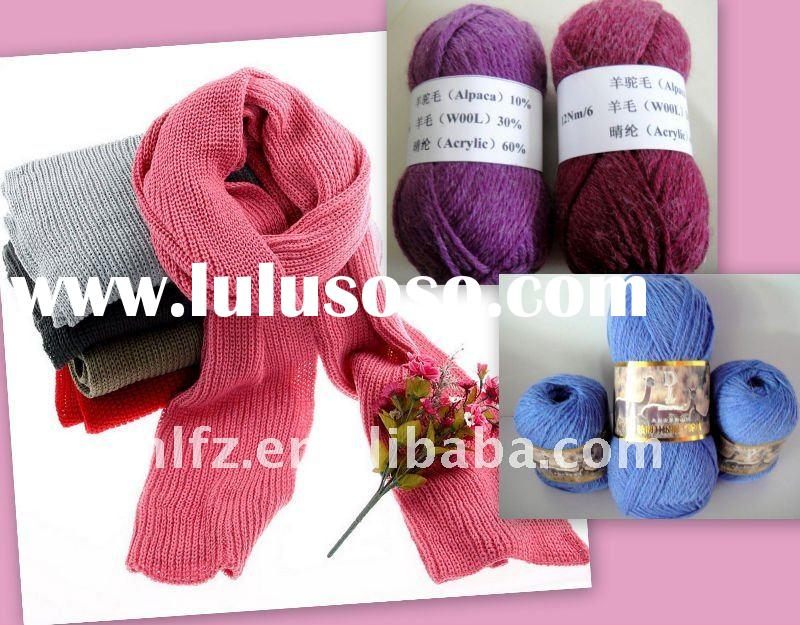 alpaca wool blended yarn competitive price have stock