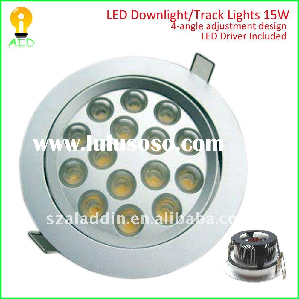 15w high power 2011 new led downlight housing