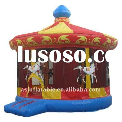 2011 hottest 0.45-0.55mm PVC Inflatable bouncer