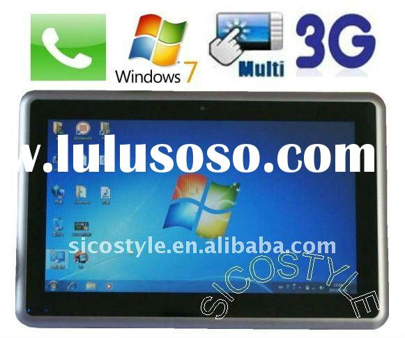 240 hours Battery Life Shenzhen Win7 Tablet 3G&Phone Built-in 10'' Capacitive
