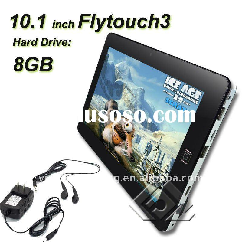 """CE certifacte proved!! Android 2.2 Tablet, 10.2"""", Fly Touch 3, Flash 10.1, GPS 8GB Capacitive S"""