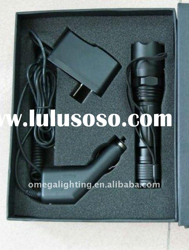 CREE/Q5 LED high power rechargeable led waterproof torch