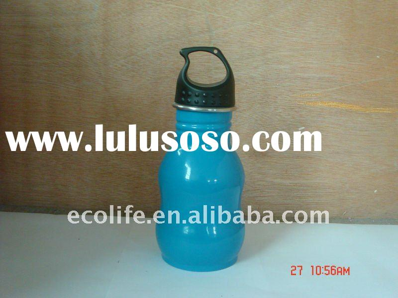 Eco-friendly Stainless Steel 18/8 Single Wall Wide Mouth Baby Bottle