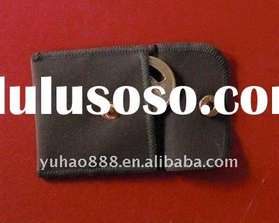 Gift jewelry accessory flocking pouch bag