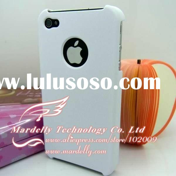 Ultra Thin RUBBERIZED HARD CASE COVER for iPHONE 4G