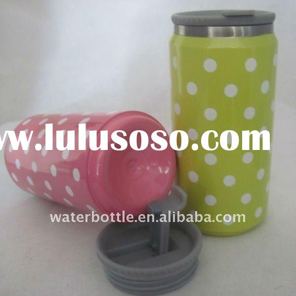 double wall  stainless steel vacuum cola tin