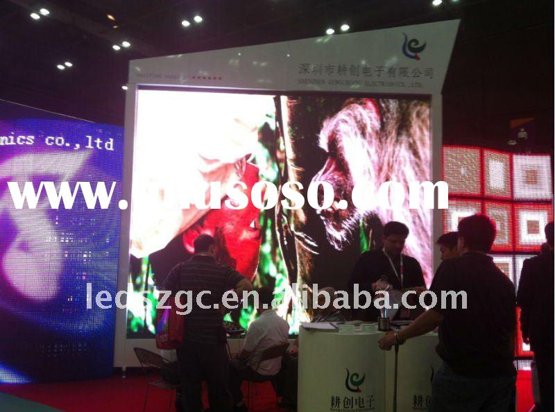 low weight rental full color led screen