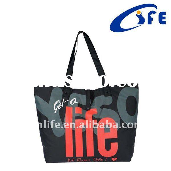 new fashion polyester shopping bag