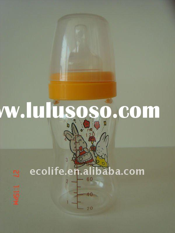 new style glass baby bottle