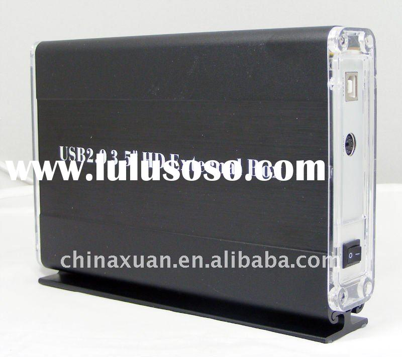 "2011 stylish 3.5"" SATA  usb external enclosure"