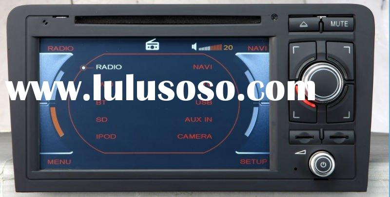 Audi A3 car dvd player with gps navigation stereo system auto radio headunit (Enco-A301)