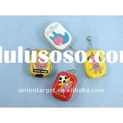 Coin holder key chain - tinplate material-promotional item, souvenir items, convenient and a home fo