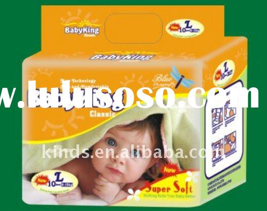 Disposable ultra-soft PE Funny backsheet  Baby Diaper