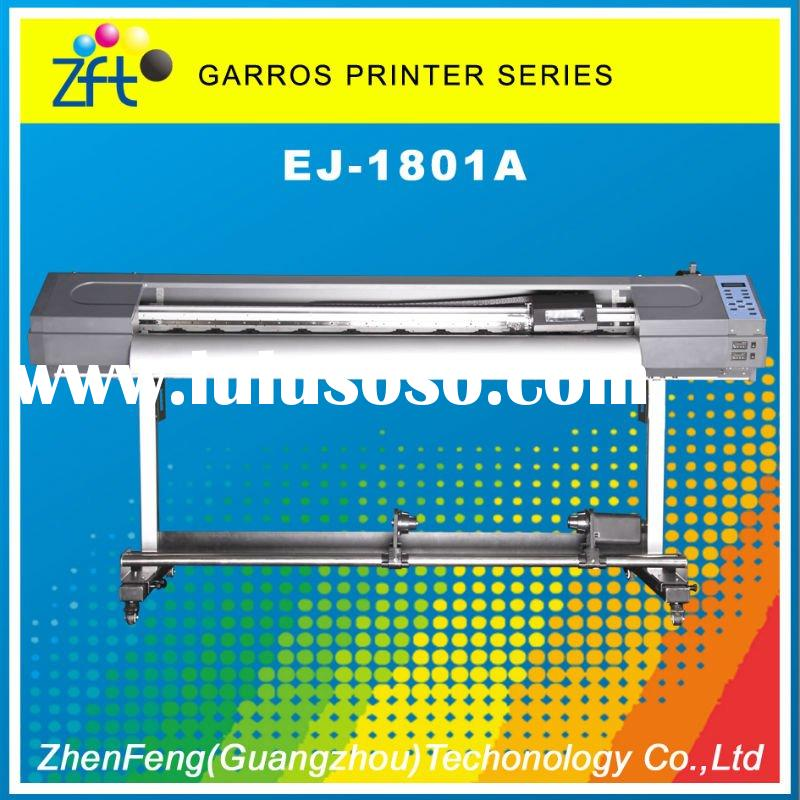 Eco solvent printer DX5 head GARROS EJ-1801A 1440dpi