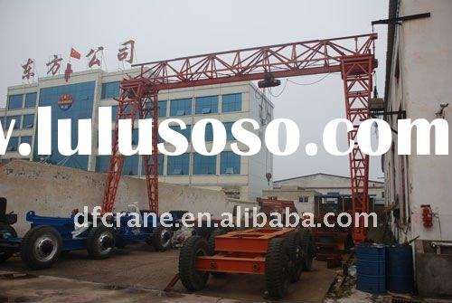 Most popular sellingin for  single beam gantry crane with electric hoist in African