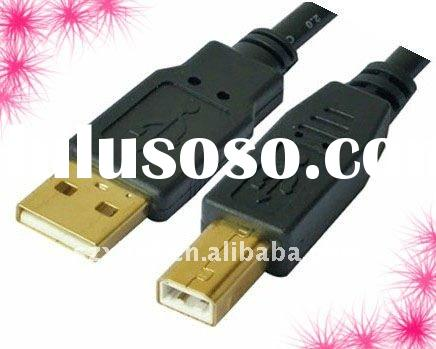 New Offer : high quality  USB 2.0 am to bm  CABLE , pour bare copper with double-shielding , OEM/ODM