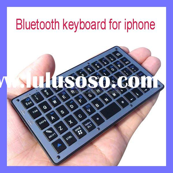 Pocket size Handheld Mini Wireless Bluetooth Keyboard for Ipad Iphone 4,symbian smart phone,windows