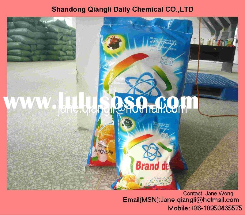 Rough detergent powder with High Foam