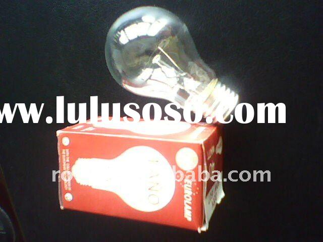 Standard clear incandescent bulb