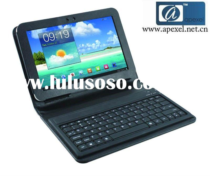 bluetooth leather case keyboard for Samsung galaxy Tab 8.9""