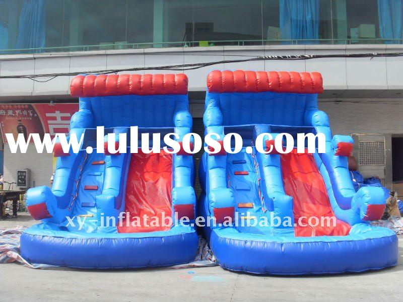 hot sell small size inflatable water slides
