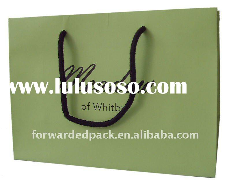 hot selling paper bag perfect for clothing