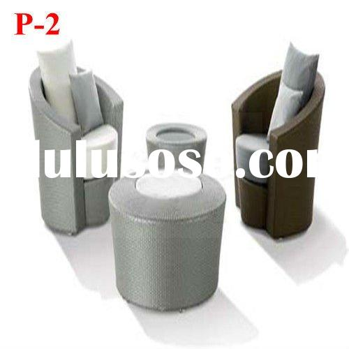 2012 Wicker Outdoor furniture Pure Series P-2#