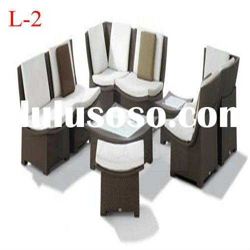 2012 rattan outdoor furniture Leisure Series L-2