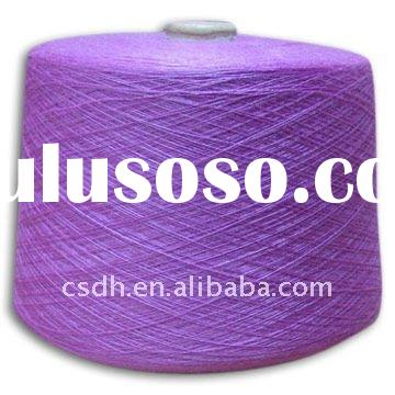 48Nm/2 50% wool 50% acrylic worsted merino wool/acrylic blended yarn with mercerized