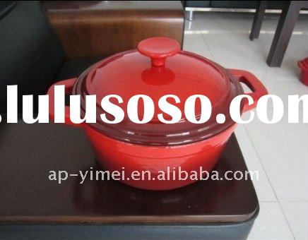 Beautiful cast iron casserole