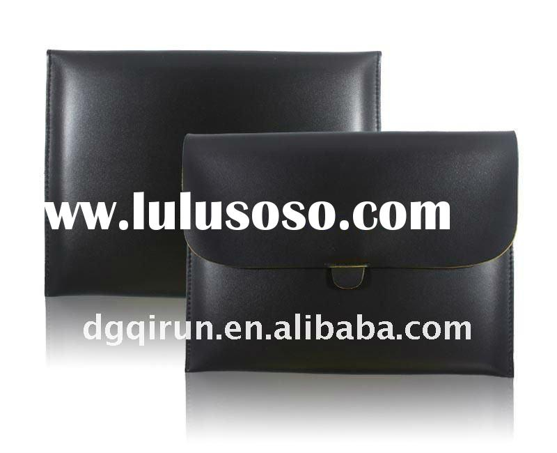 Envelope Soft Stylish PU Leather Case Bag Pouch for Ipad 2 & 1(BLACK)