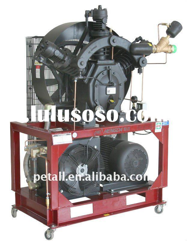 Hengda BC650 booster air compressor for PET bottle blowing